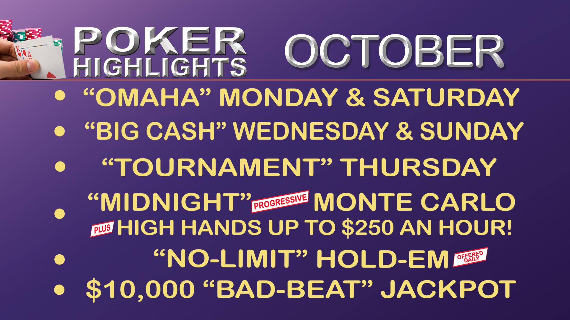 Poker hands per hour
